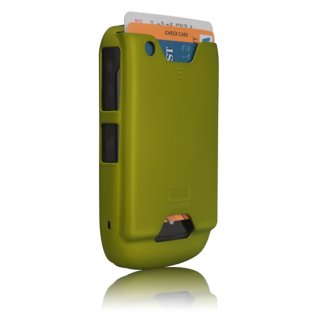 【ICカード収納ケース】 BlackBerry Curve 9300 ID Case Matte Green