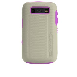 【衝撃に強いケース】 BlackBerry Bold 9780/9700 Hybrid Tough Case Cool Gray/Pink
