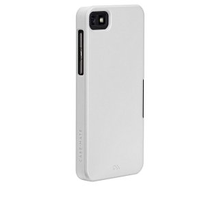 【スリムハードケース】 BlackBerry Z10 Barely There Case Glossy White