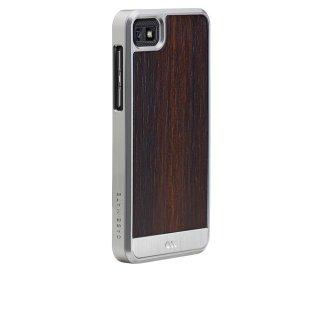 【天然木材を使ったケース】 BlackBerry Z10 Artistry Woods Case Rosewood