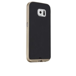 【2種の素材を使った薄いケース】 GALAXY S6 SC-05G Slim Tough Case Black/Gold