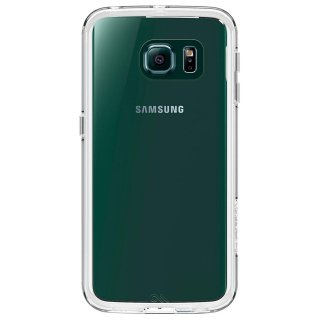 【衝撃に強いケース】 GALAXY S6 edge SC-04G/SCV31 Hybrid Naked Tough Case Clear/Clear