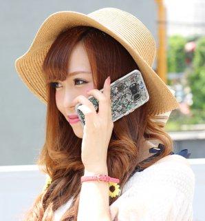 【Galaxy S8 ケース 真珠貝を使用!】 Galaxy S8 SC-02J/SCV36 Karat Case Mother of Pearl