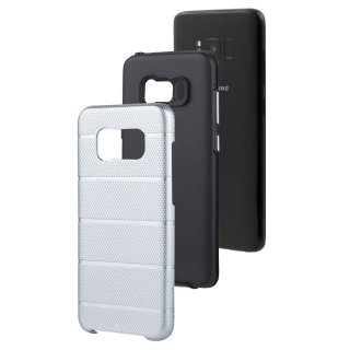 【Galaxy S8 2層構造でしっかりと保護】 Galaxy S8 SC-02J/SCV36 Hybrid Tough Mag Case Space Grey / Black
