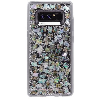 【Galaxy Note 8用 真珠貝を使用!美しく煌びやかなケース】Galaxy Note 8 Karat - Mother of Pearl