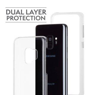 【Galaxy S9専用 耐久性バツグンのシンプルなケース】Galaxy S9 SC-02K/SCV38 Naked Tough - Clear