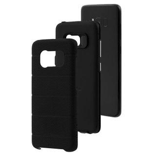 【Galaxy S8 2層構造でしっかりと保護】 Galaxy S8 SC-02J/SCV36 Hybrid Tough Mag Case  Black / Black