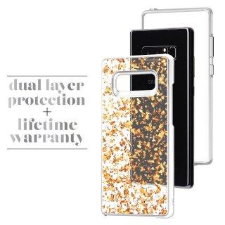 【ロースゴールドの金箔を大胆にデザイン Galaxy Note 8用】Galaxy Note 8 Karat - Rose Gold