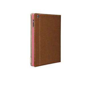 【横開きブックスタイルケース 】 iPad 2〜4世代 SlimFrame Case Brown / Tan