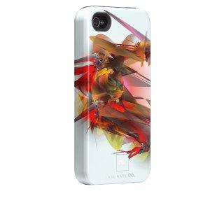 【衝撃に強いデザインケース】 iPhone 4S/4 Hybrid Tough Case Untangled