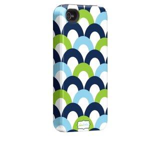 【衝撃に強いデザインケース】 iPhone 4S/4 Hybrid Tough Case Clairebella - Fiesta Scoop I