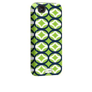 【衝撃に強いデザインケース】 iPhone 4S/4 Hybrid Tough Case Clairebella - Ovalicious