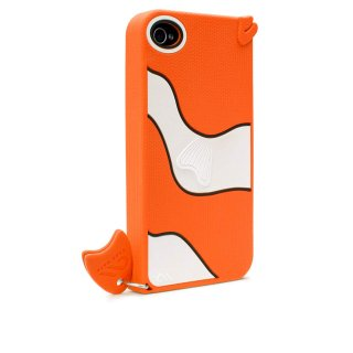 【かわいい熱帯魚のケース】 iPhone 4S/4 Creatures: Gil Fish Case Orange