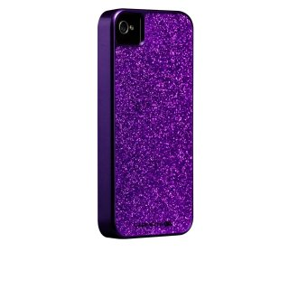 【キラキラ輝くハードケース】 iPhone 4S/4 Barely There Glam Case Purple