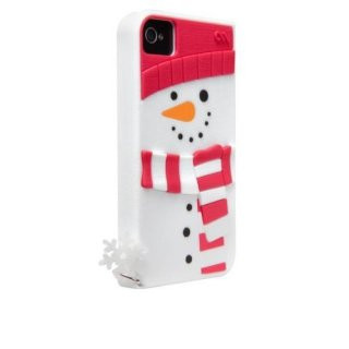 Case-Mate 日本正規品 iPhone 4S / 4 CREATURES: Snowman Case Whit
