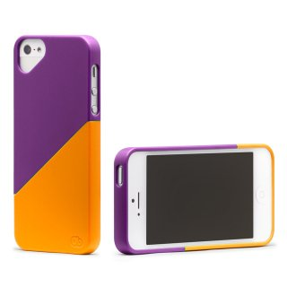 iPhone 4S/4 対応ケース Duet Case, Magic Purple / Orange Popsicle