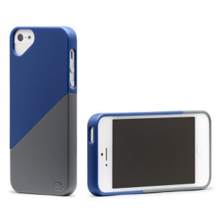 iPhone 4S/4 対応ケース Duet Case, Magic Midnaight Blue/Grand Grey