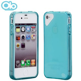 iPhone 4S/4 対応ケース Glacier Case, Crystal Blue