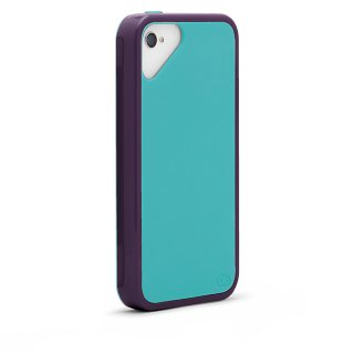 iPhone 4S/4 対応ケース Sling Case, Magic Purple/Crystal Blue