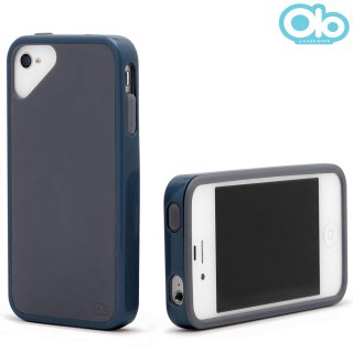 iPhone 4S/4 対応ケース Sling Case, Midnight Blue/Grand Grey