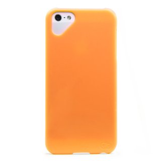 iPhone 4S/4 対応ケース Simple Case, Orange Popsicle