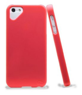 iPhone 4S/4 対応ケース Simple Case, Red Hibiscus