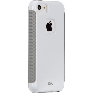 【iPhone5c ケース ハイブリッド構造】 iPhone 5c POP! with Stand Case White / Cool Grey