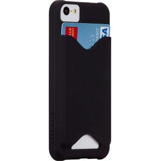 【ICカードが収納可能なケース】 iPhone 5c BT ID Case Matte Black 【エラー防止シート付属】