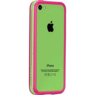 【iPhone5c ケース さりげなく守るフレームスタイル】 iPhone 5c Hula Pink フレームスタイルケース
