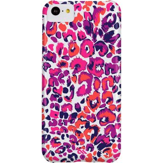 【ヒョウ柄のハードケース】 iPhone 5c Barely There Prints Case Painted Cheetah