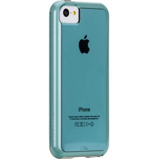【衝撃に強いタフなケース】 iPhone 5c Hybrid Tough Naked Case Clear Aqua / White
