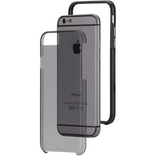 【iPhone6s/6 ケース 2層構造でしっかりと保護】 iPhone6s/6 Hybrid Tough Naked Case Smoke Clear / Black