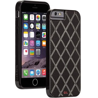 【iPhone6s/6 ケース 本物のカーボンファイバーを使用】 iPhone6s/6 Carbon Alloy Case Black / Titanium