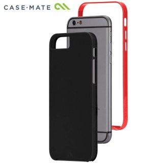【iPhone6s/6 ケース デュアルレイヤーでスリム】 iPhone6s/6 Slim Tough Case Black / Red スリム タフ ケース
