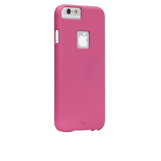 【iPhone6s/6 ケース 薄型 シンプル】 iPhone6s/6 Barely There Case Lipstick Pink ベアリーゼア・スリム ハードケース
