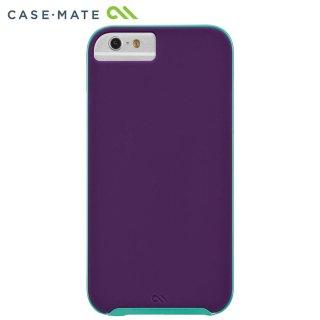 【iPhone6s/6 ケース デュアルレイヤーでスリム】 iPhone6s/6 Slim Tough Case Plum Purple / Pool Blue スリム タフ ケース
