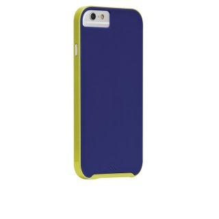 【iPhone6s/6 ケース デュアルレイヤーでスリム】 iPhone6s/6 Slim Tough Case Blue / Chartreuse Green スリム タフ ケース