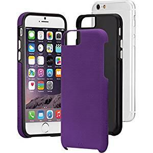 【iPhone6s/6 ケース 2層構造でしっかりと保護】 iPhone6s/6 Hybrid Tough Case Purple / Black ハイブリッド タフ ケース