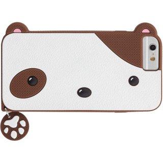 【iPhone6s/6 ケース かわいい子犬】 iPhone6s/6 CREATURES: Puppy Case クリーチャーズ: 仔犬の シリコン ケース