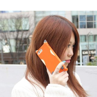 【iPhone6s/6 ケース かわいい キツネ】 iPhone6s/6 CREATURES: Fox Case 【チャーム つき】 クリーチャーズ: フォックス