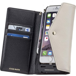 【iPhone6s/6 ケース 3500mAhバッテリー付き】 iPhone6s/6 Charging Folio Wristlet Black/Sand