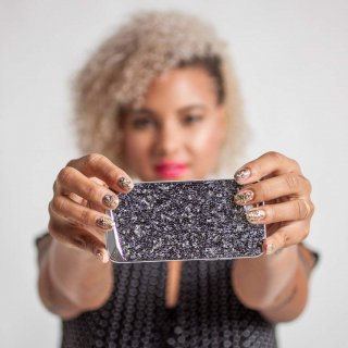 【iPhone6s/6 ケース 水晶を使用】 iPhone6s/6 Brilliance Case Amethyst ブリリアンス ケース アメジスト