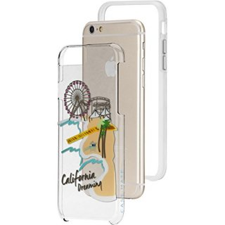 【iPhone6s/6 ケース デザイン・プリント】 iPhone6s/6 Hybrid Naked Tough City Print Los Angeles Santa Monica
