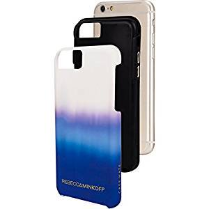 【iPhone6s/6 ケース レベッカ・ミンコフ】 iPhone6s/6 Hybrid Tough Print REBECCA MINKOFF Blue Ombre