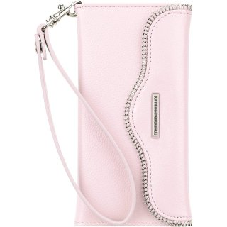 【iPhone6s/6 ケース レベッカ・ミンコフ】 iPhone6s/6 REBECCA MINKOFF Leather Folio Wristlet Pale Pink