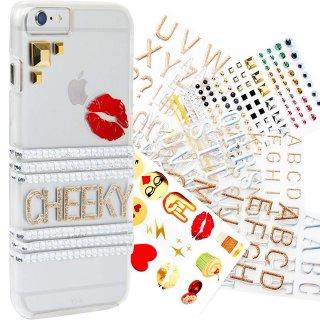 【iPhone6s/6 ケース 自分好みに飾り付け】 iPhone6s/6 Hybrid Naked Tough Custom Case ハイブリッド ネイキッド タフ