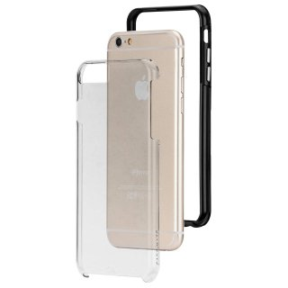【iPhone6s Plus/6 Plus ケース 2層構造で保護】 iPhone6s Plus/6 Plus Hybrid Tough Naked Case Clear / Black