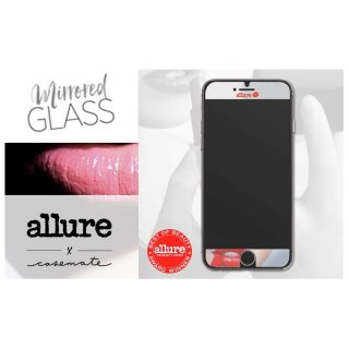 【iPhone8 美しく液晶画面保護 硬度9Hの強化ガラスフィルム】 iPhone8/7/6s/6 Allure Mirrored Glass Screen Protector