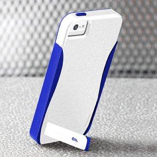 【スタンド機能付きケース】 iPhone SE/5s/5 POP! with Stand Case White/Marine Blue
