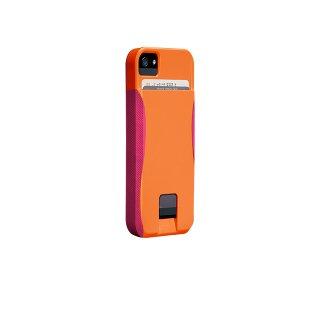 【ICカードが収納出来るケース】 iPhone SE/5s/5 POP! ID CaseTangerine Orange/Lipstick Pink